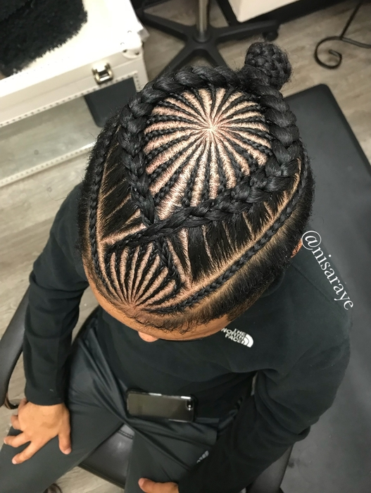 Nisa Raye Locs Cornrows Braids Goddess Locs