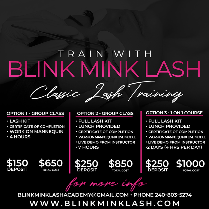 Schedule Appointment With Blink Mink Lash