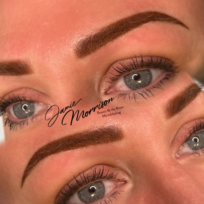 Schedule Appointment with Beauty and the Brow Microblading
