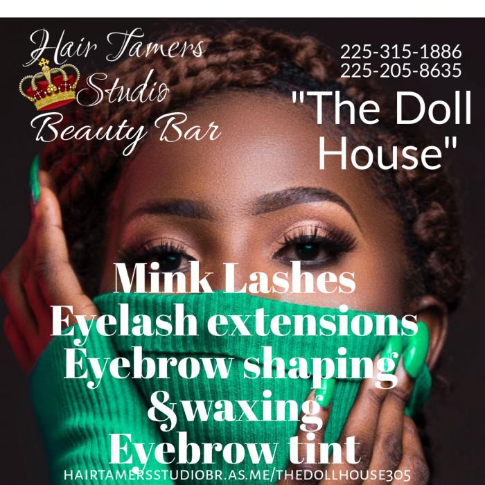 The Dollhouse Beauty Bar - eyelash bar,eyebrow shaping, make
