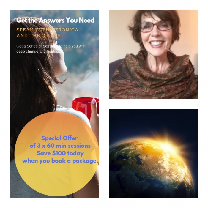 Private Sessions | Veronica Entwistle : Intuitive Energy