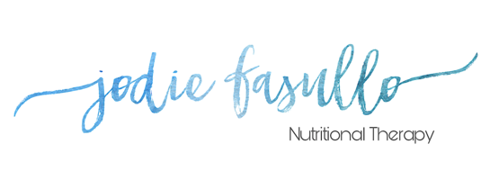Jodie Fasullo, Nutritional Therapy