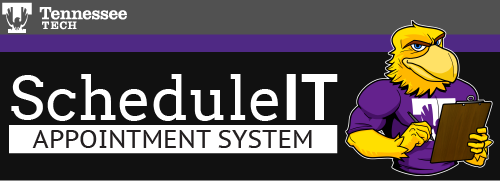 Tennessee Tech ITS - ScheduleIT Appointment System