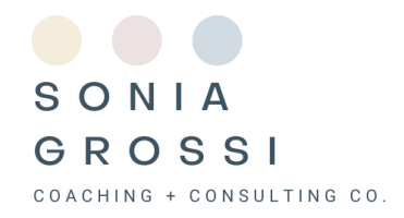 Sonia Grossi Coaching + Consulting Co.