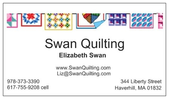 Swan Quilting