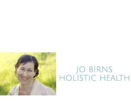 JO BIRNS HOLISTIC HEALTH