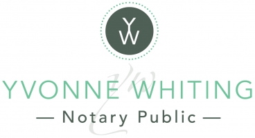 Yvonne Whiting - Notary Public