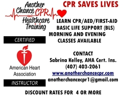 Another Chance CPR and Healthcare Training  Training