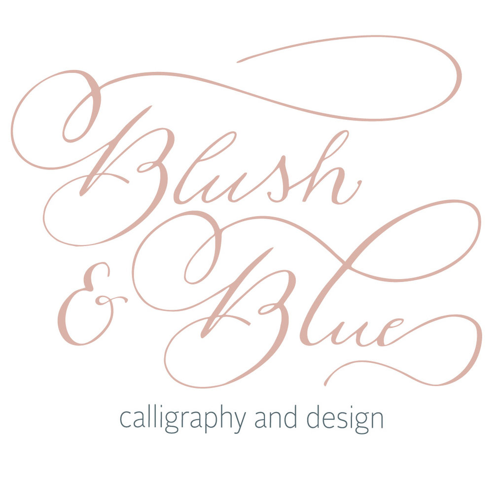 Blush and Blue Designs