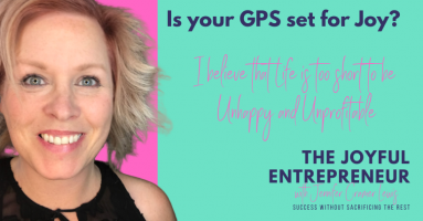 Jennifer Cramer Lewis, The Joyful Entrepreneur. Isn't it time to be Joyful in Life and Business? I have the strategies and mentorship to help you achieve joy.