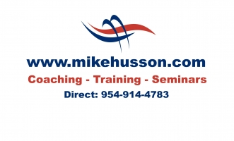 Coach Mike Husson