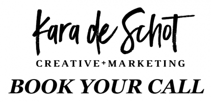Kara de Schot Creative + Marketing Expert