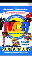 My Cartoon Party (Character Rental)