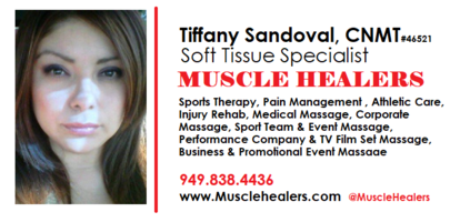 Schedule Appointment with Muscle Healers