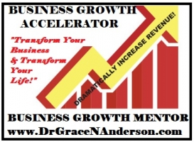 DR GRACE ANDERSON - BUSINESS GROWTH MENTOR & MASTER LIFE COACH.