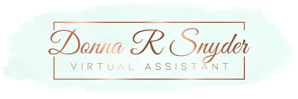 Donna R Snyder  Virtual Assistant
