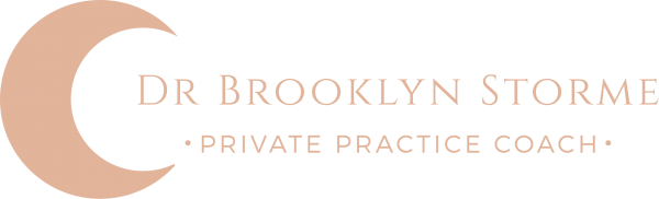 Dr Brooklyn Storme Private Practice Consulting & Coaching