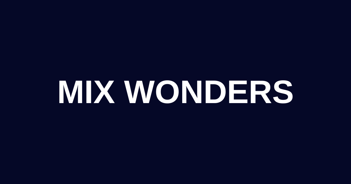 Mix Wonders Podcast Lessons