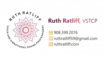 Ruth Ratliff, Voice and Vibrational Sound Professional