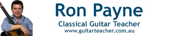 Ron Payne Classical Guitar Teacher