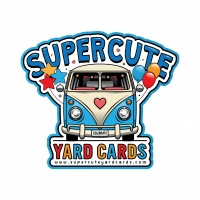 Supercute Yard Cards