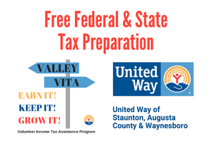 Valley VITA - United Way of Staunton, Augusta County & Waynesboro