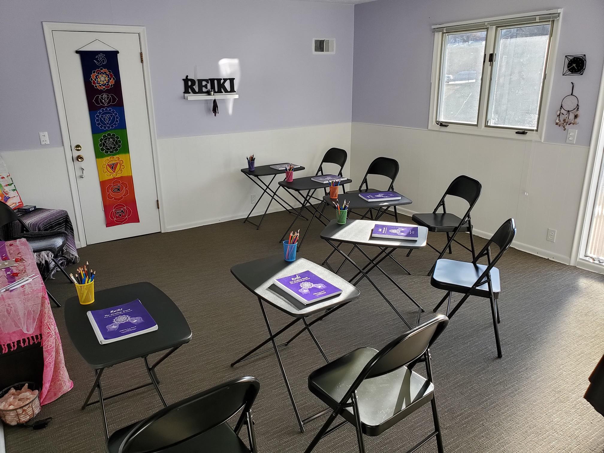 Reiki Classroom 1