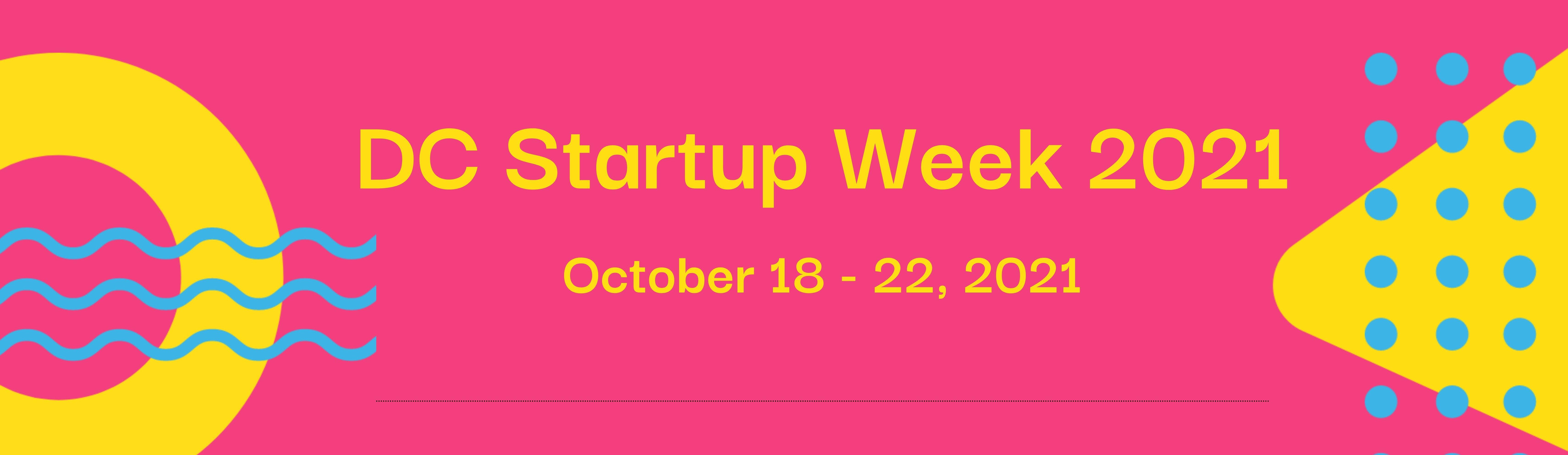 DC Startup Week 2021