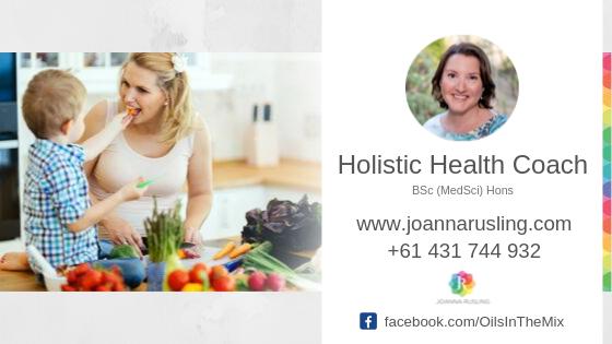 Joanna Rusling Holistic Health Coach